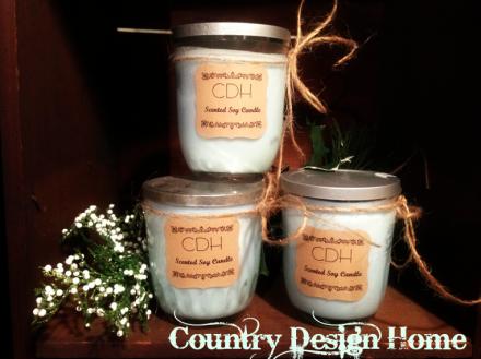 CDH Jelly Jar Soy Candles