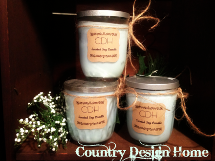 CDH Jelly Jar Soy Candles