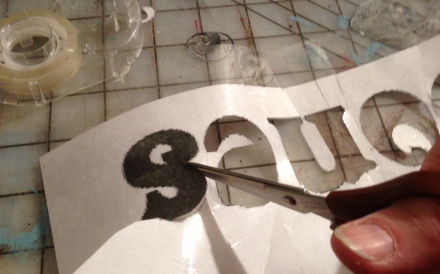 Cutting Out Whole Letters