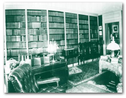 Endicott Library c.1900