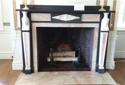 Glen Magna Drawing Room Fireplace