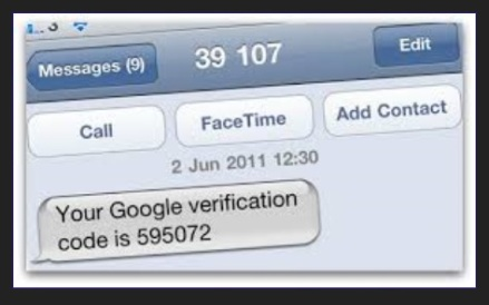 google verfication code