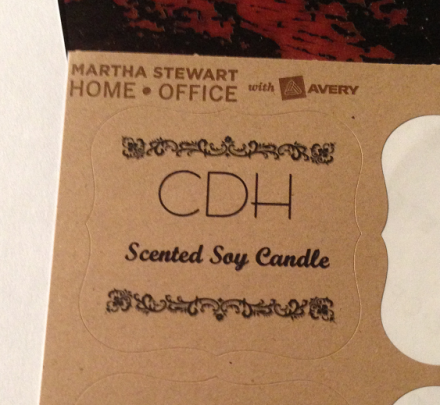 Jelly Jar Candle Label
