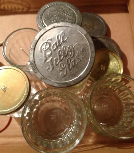 Jelly Jars Empty Stack