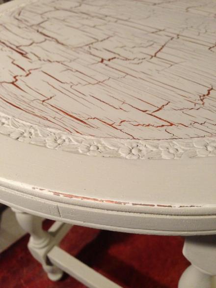 Martha Stewart Crackle Glaze Over Shellac