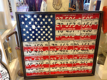 Reclaimed and Resalvaged Flag