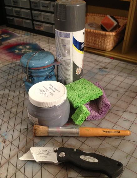Stenciling Supplies