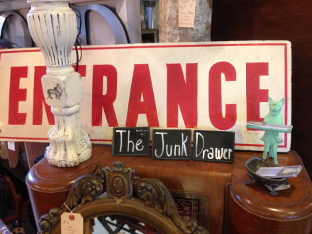 The Junk Drawer Sign