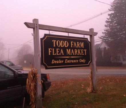 Todd Farm Sign