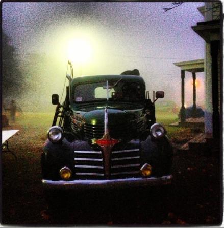 Todds Farm Truck At Dawn