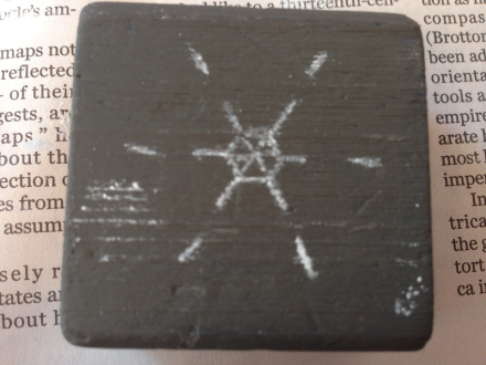 Chalk Pattern on Block