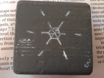 Chalk Pattern on Block