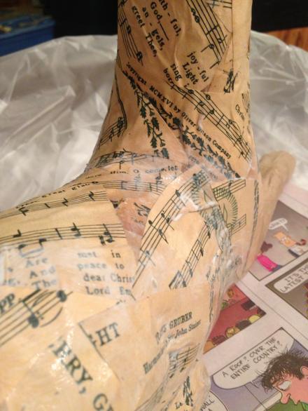 Decoupage Deer Sheet Music