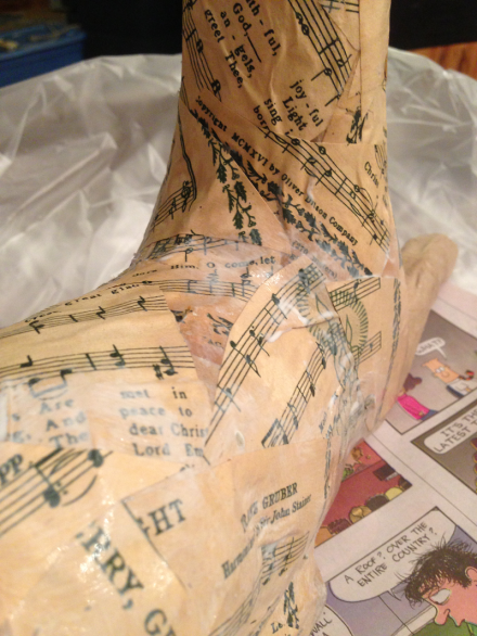 Decoupage Deer Sheet Music