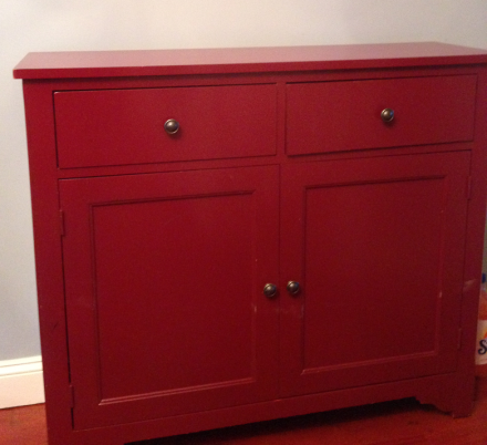 Red Hutch Before