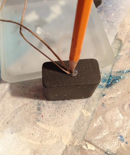Snowflake Block Pencil Pushing