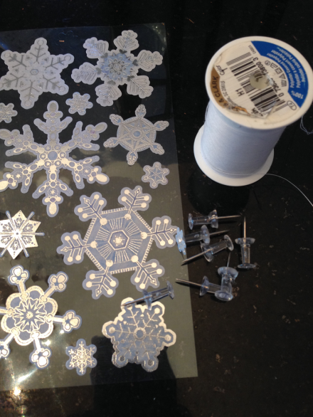 Snowflakes and Thread