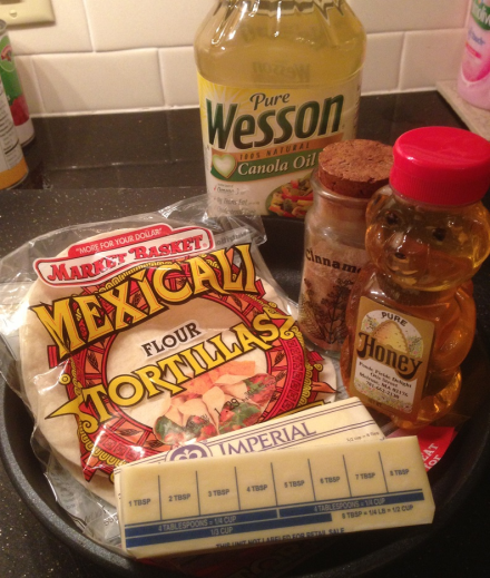 Sopapilla Ingredients