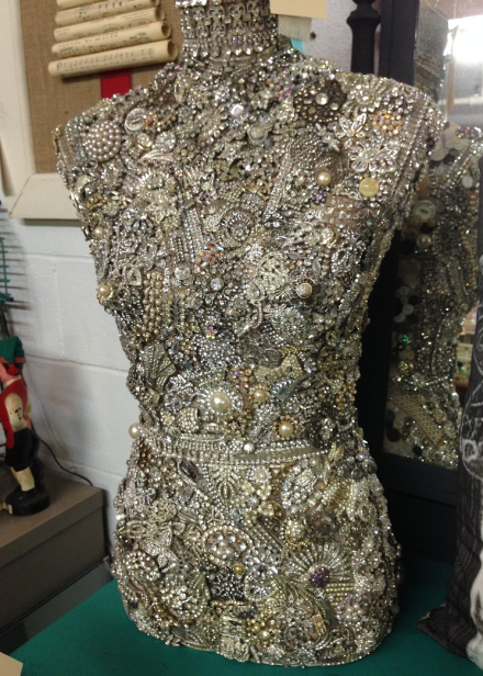 VT Jewel Encrusted Dress Form