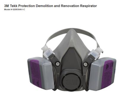 3M Respirator Mask @ Home Depot