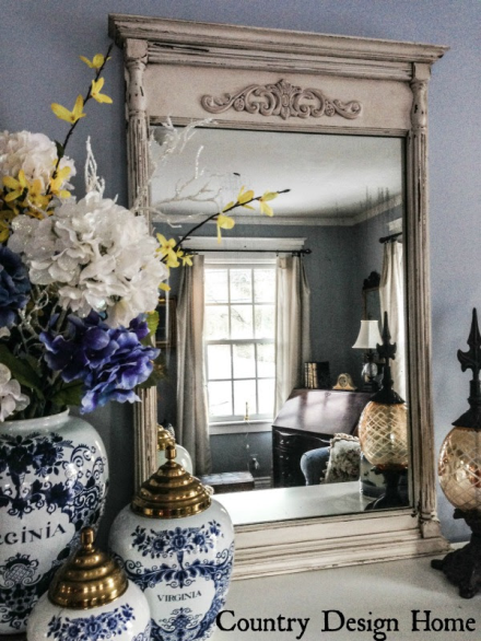 DIY Antiqued Mirror on BobVilaNation