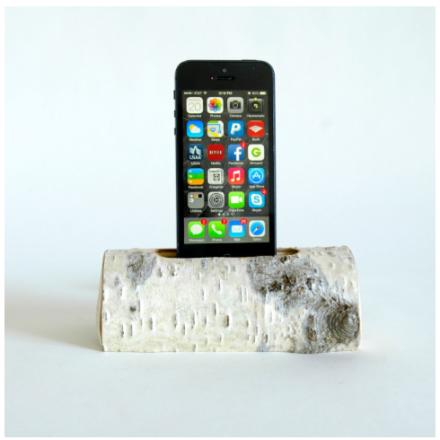 Docksmith iPhone Birch Log #162