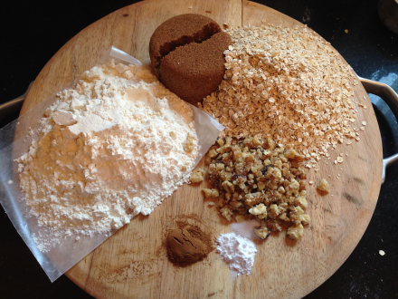 Oatmeal Jam Squares Ingredients