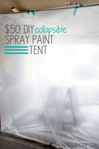 Makely Collapsible Spray Tent