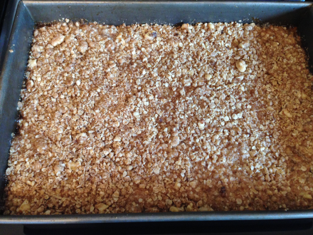 Oatmeal Jam Squares Baked