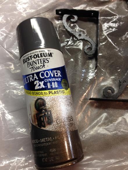 Rustoleum Gray Painters Touch
