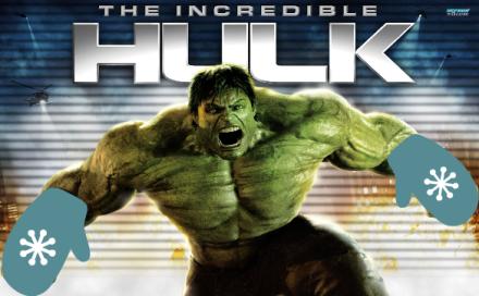 The Incredible Hulk Mitts