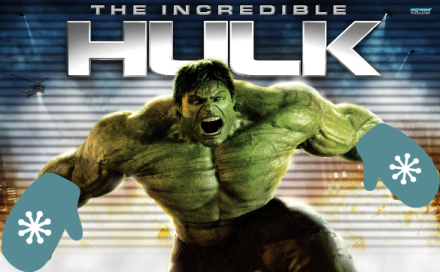 The Incredible Hulk Mitts