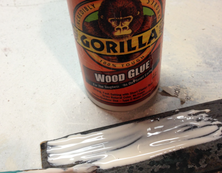 Vintage LOVE sign Gorilla Glue