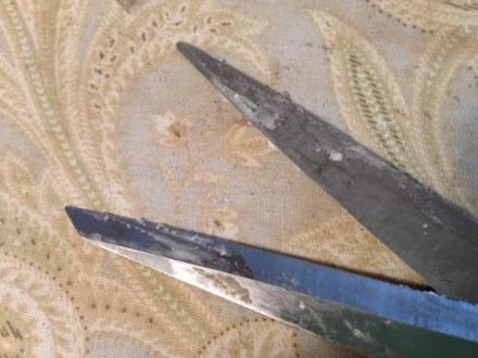 Waxed Scissors