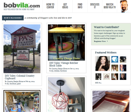 BobVila.com Home Page