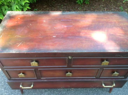 Cedar Hope Chest Top View