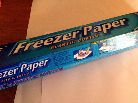 French Lavender Table Freezer Paper for Graphics Transfer