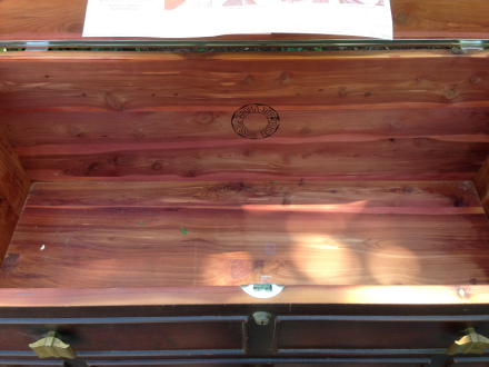 Hope Chest Cedar Interior