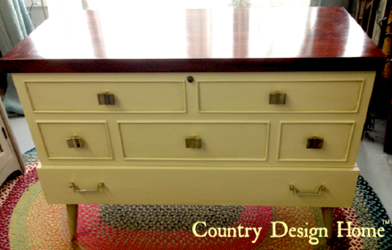 Refinished Lane Mid Century Modern Hope Chest