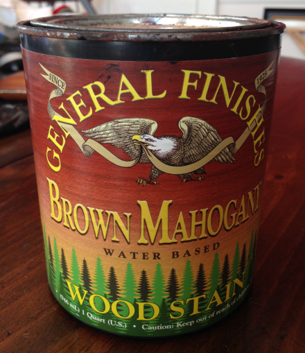 General Finishes Water Based Stain