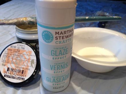 Hope Chest Martha Stewart Tintable Glaze