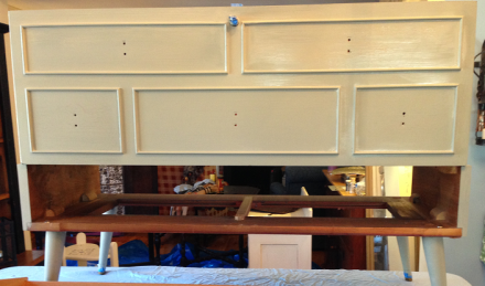 Hope Chest Painted Behr Ashwood