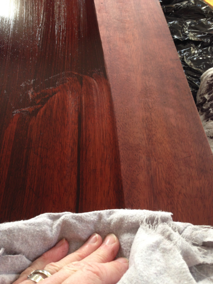 Hope Chest Staining Top