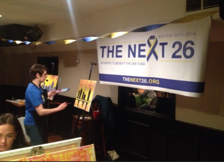 Art Instructor, paint night, cleary's bar, the next 26