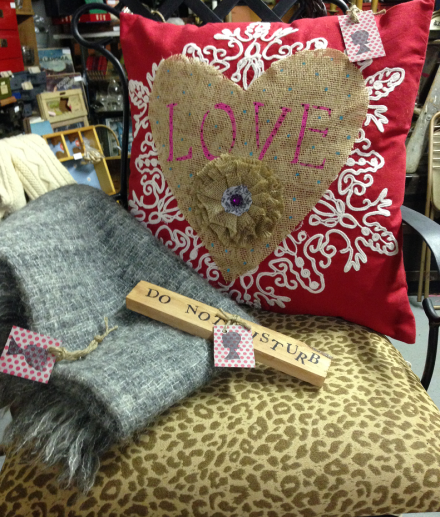 Vintage Thymes Love Pillow