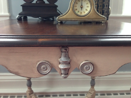 Antique Table Top Dressed