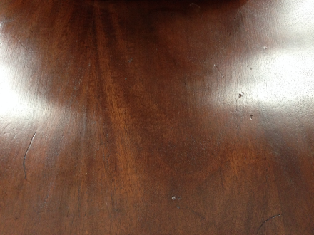 Antique Table Top Fiddes Wax Finish