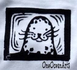 OneOceanArts Logo Baby Seal