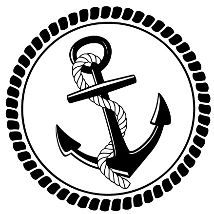 Nautical Anchor and Roping Design