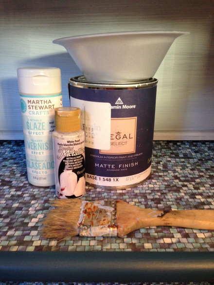Nautical Cabinet Glazing Supplies for Top